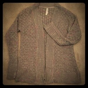 Open Front  Aeropostale Sweater